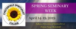2019 April Seminary Week