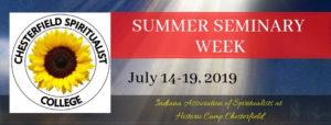 2019 July Seminary Week