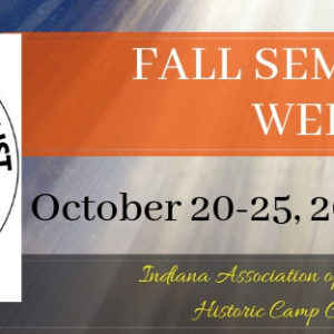 2019 October Seminary Week
