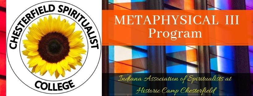 Metaphysical Level III Program Banner